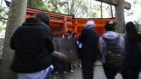 Fushimi Inari czasu upływ zbiory wideo