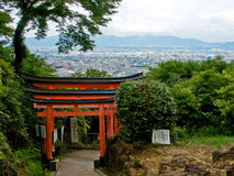 Fushimi Inari em Kyoto fotos de stock royalty free