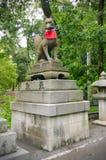 Fushimi Inari Fox zabytek Zdjęcia Stock
