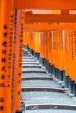 The Fushimi INari Gates Royalty Free Stock Photo