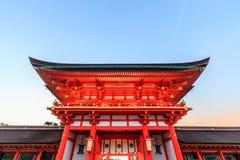 fushimi inari Kyoto świątyni taisha Zdjęcie Stock