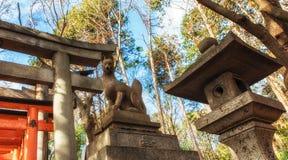Fushimi Inari, Kyoto, Jap?o imagem de stock