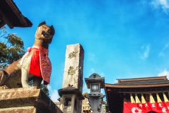 Fushimi Inari, Kyoto, Jap?o foto de stock