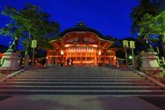 Fushimi inari przy półmrokiem w Kyoto Obraz Royalty Free