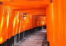 Fushimi Inari relikskrin Arkivfoton