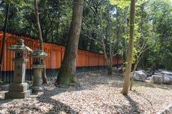 Fushimi Inari relikskrin Royaltyfria Foton