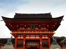 Fushimi Inari relikskrin Royaltyfri Fotografi