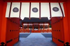 Fushimi Inari relikskrin i Japan Arkivfoton