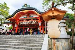 Fushimi Inari relikskrin, Kyoto Royaltyfria Bilder