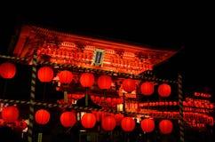 Fushimi Inari relikskrin, Kyoto Japan Arkivfoton