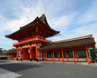 Fushimi Inari Shrine Entrance Royalty Free Stock Photo