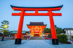 Fushimi Inari Shrine. Famous and important Shinto shrine in southern Kyoto , Japan Royalty Free Stock Images