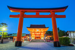 Fushimi Inari Shrine. Famous and important Shinto shrine in southern Kyoto , Japan Stock Images