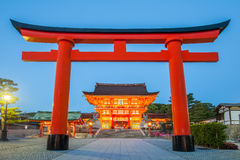 Fushimi Inari Shrine. Famous and important Shinto shrine in southern Kyoto , Japan Royalty Free Stock Photography