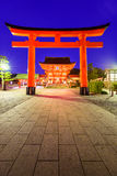 Fushimi Inari Shrine. Fushimi Inari Grand Shrine in Kyoto, Japan Stock Images