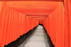 Fushimi Inari Shrine, an important Shinto shrine, in Southern Ky. Oto, Japan Royalty Free Stock Image