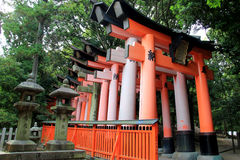 Fushimi Inari Shrine, an important Shinto shrine, in Southern Ky Royalty Free Stock Images