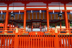 Fushimi Inari Shrine in Japan Royalty Free Stock Photos