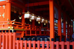 Fushimi Inari Shrine in Japan Stock Photos