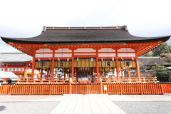 Fushimi Inari Shrine. In japan Stock Photography