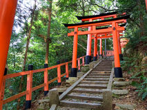 Fushimi Inari Shrine - Kyoto Royalty Free Stock Photography