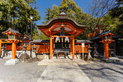 Fushimi Inari Shrine in Kyoto Royalty Free Stock Photography