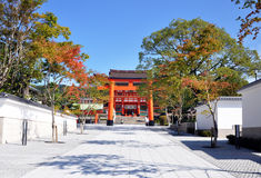 Fushimi Inari Shrine at Kyoto - Japan Stock Photography