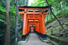 Fushimi Inari Shrine, Kyoto, Japan Stock Photo