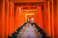 Fushimi Inari Shrine in Kyoto, Japan Stock Photo