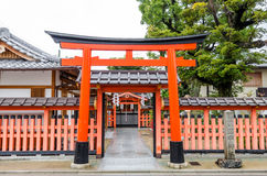 Fushimi Inari shrine in Kyoto Royalty Free Stock Image