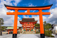 Fushimi Inari Shrine. Kyoto, Japan at Fushimi Inari Shrine Royalty Free Stock Image