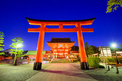 Fushimi Inari Shrine. In Kyoto, Japan Stock Image