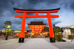 Fushimi Inari Shrine. In Kyoto, Japan Stock Images