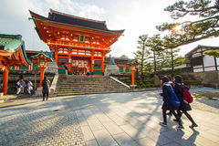 Fushimi Inari Shrine in Kyoto Japan Royalty Free Stock Photography