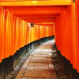Fushimi Inari Shrine Stock Photos