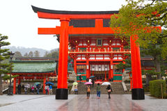 Fushimi Inari Shrine, Kyoto, Japan Royalty Free Stock Photography