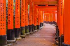 Fushimi Inari Shrine in Kyoto, Japan. Royalty Free Stock Images