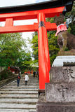 Fushimi Inari Shrine, Kyoto Stock Photos