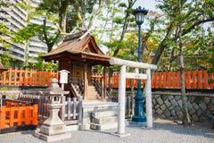 Fushimi Inari Shrine, Kyoto -  SEPTEMBER, 1: Undefined ordinary Stock Photography