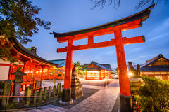 Fushimi Inari Shrine of Kyoto. Fushimi Inari Taisha Shrine in Kyoto, Japan Royalty Free Stock Image
