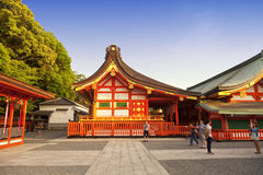 Fushimi Inari shrine, one of famous landmarks in Kyoto, Japan Royalty Free Stock Photo