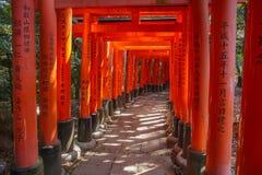 Fushimi Inari Shrine. Or Fushimi  Inari Taisha, in Kyoto Japan Royalty Free Stock Photo
