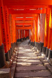 Fushimi Inari Shrine. Or Fushimi Inari Taisha, in Kyoto Japan Royalty Free Stock Images