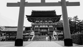Fushimi Inari Taisha在京都,日本 免版税库存照片