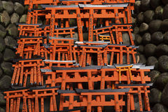 Fushimi Inari Taisha寺庙,京都,日本 免版税库存图片
