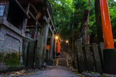 Fushimi Inari Taisha寺庙 免版税库存照片