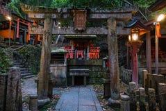 Fushimi Inari Taisha寺庙 库存照片