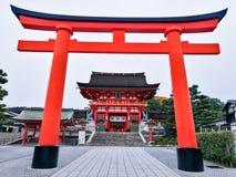 Fushimi Inari-taisha寺庙 库存照片