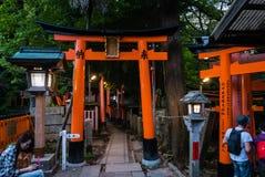 Fushimi Inari Taisha świątynia Zdjęcia Stock