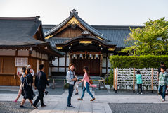 Fushimi Inari Taisha świątynia Zdjęcie Stock